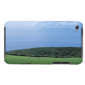 view of sheep grazing on lush hillside Case-Mate iPod touch case