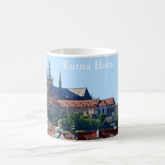 View of sights of the town of Kutna Hora. Coffee Mug