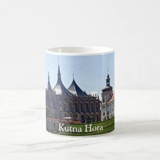 View of St. Barbara's Cathedral in Kutna Hora Coffee Mug
