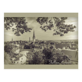 View of Tallinn from Toompea CC0210 Postcard