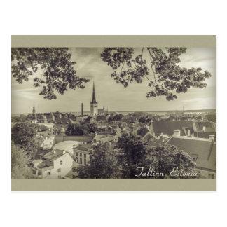 View of Tallinn from Toompea CC0210 Postcard