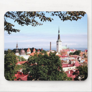 View of Tallinn Mouse Pad