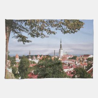 View of Tallinn Tea Towel