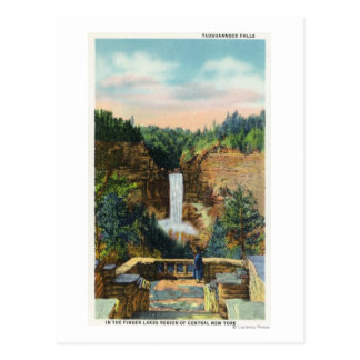 View of Taughannock Falls # 2 Postcard