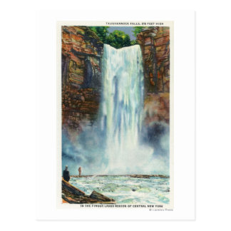View of Taughannock Falls from the Bottom Postcard