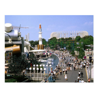 View of the 1964 New York World's Fair Vintage Postcard