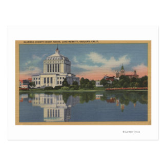 View of the Alameda County Court House Postcard