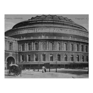 View of the Albert Hall, c.1900 Postcard