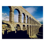 View of the aqueduct poster