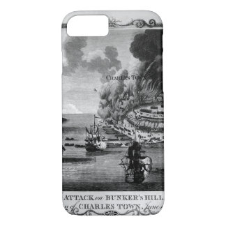 View of The Attack on Bunker's Hill_War Image iPhone 7 Case