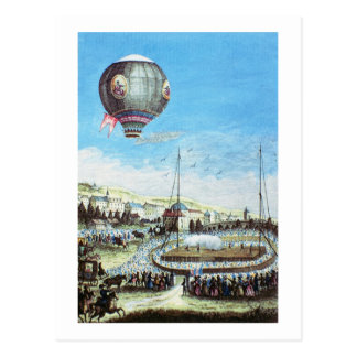 View of the Brolteaux in Lyon and the third flight Postcard