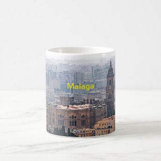 View of the Cathedral of Malaga Coffee Mug