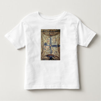 View of the ceiling of the chapel of the Tinel Toddler T-shirt