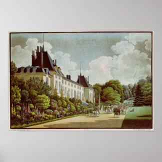 View of the Chateau de la Malmaison Poster