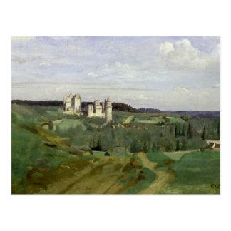 View of the Chateau de Pierrefonds, c.1840-45 Postcard