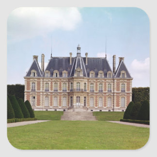 View of the Chateau Square Sticker