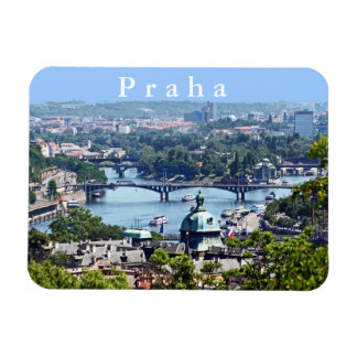 View of the city from Prague Castle. Magnet