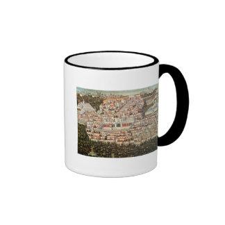 View of the city of Damascus Coffee Mug