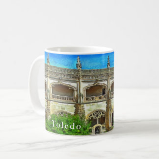View of the cloister of the Cathedral of St. Mary. Coffee Mug