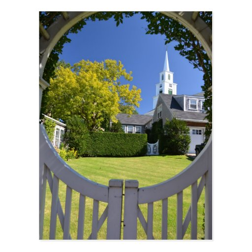 View of the Congregational Church of Nantucket Post Cards