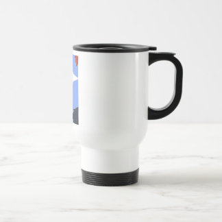 View OF the CROSSes Stainless Steel Travel Mug