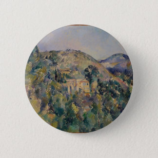 View of the Domaine Saint-Joseph 2 Inch Round Button