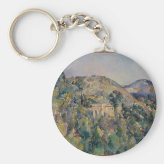 View of the Domaine Saint-Joseph Basic Round Button Keychain