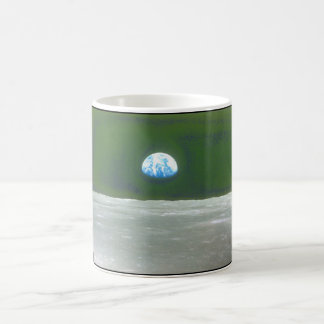 View of the Earth from the Moon_Space Coffee Mug