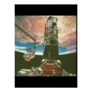 View of the Earth from the Shuttle_Space Poster
