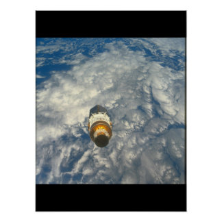 View of the Earth_Space Poster