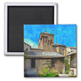 View of the El Greco Museum in Toledo Magnet