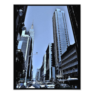 View of the Empire State Building Photo Print