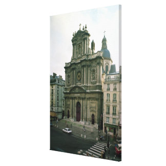 View of the facade, built 1627-41 canvas prints