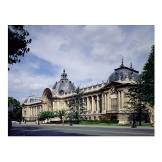 View of the facade of the Petit-Palais Post Card