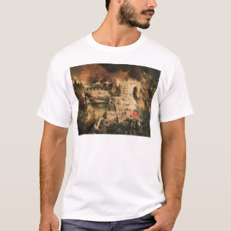 View of the Fires in Paris during the Commune T-Shirt