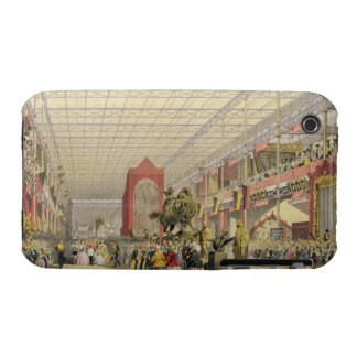 View of the Foreign Nave of the Great Exhibition o iPhone 3 Cases