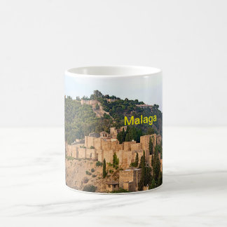View of the fortress of Alcazaba in Malaga Coffee Mug