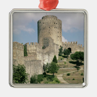 View of the Fortress, started in 1452 Metal Ornament