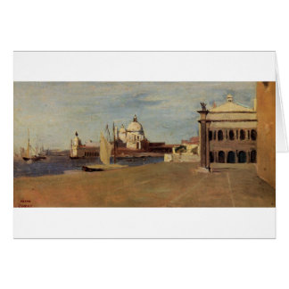 View of the Grand Canal, Venice, from the Riva Card