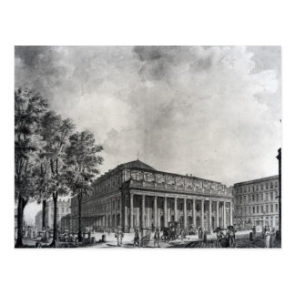 View of the Grand Theatre, Bordeaux Postcard