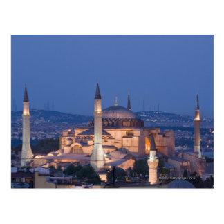 View of the Haghia Sophia Postcard