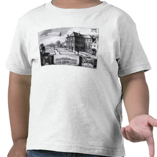 View of the Hilwerue House Shirts
