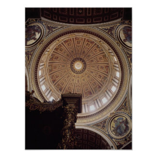 View of the interior of the dome poster