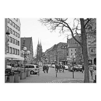 View of the Königsstraße street in Nuremberg Photo Print