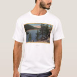 View of the Lake through the Pines T-Shirt
