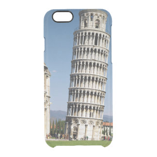 View of the Leaning Tower Clear iPhone 6/6S Case