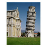 View of the Leaning Tower Posters