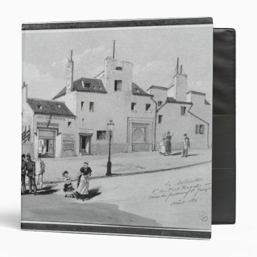 View of the Maternite Port-Royal, August 1886 Vinyl Binder