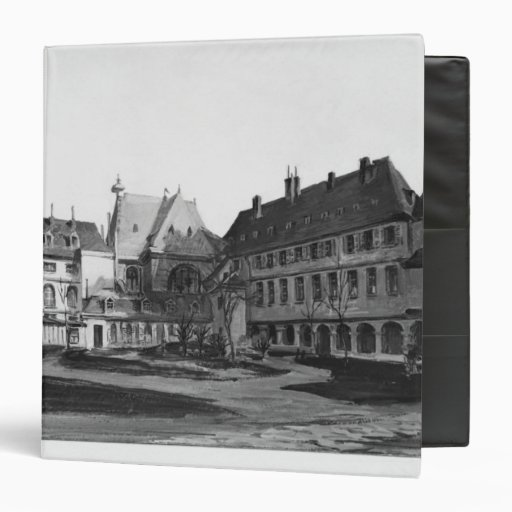 View of the Maternite Port-Royal the cloister Vinyl Binder