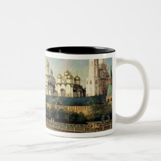 View of the Moscow Kremlin from the Embankment Two-Tone Coffee Mug